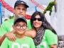 ছবি : বাবা মোঃ ইমরুল হাসান এবং মা স্মৃতি হাসানের সাথে সামিদ হাসান। ( স্কুল অফার :সিডনি বয়েস হাই স্কুল )